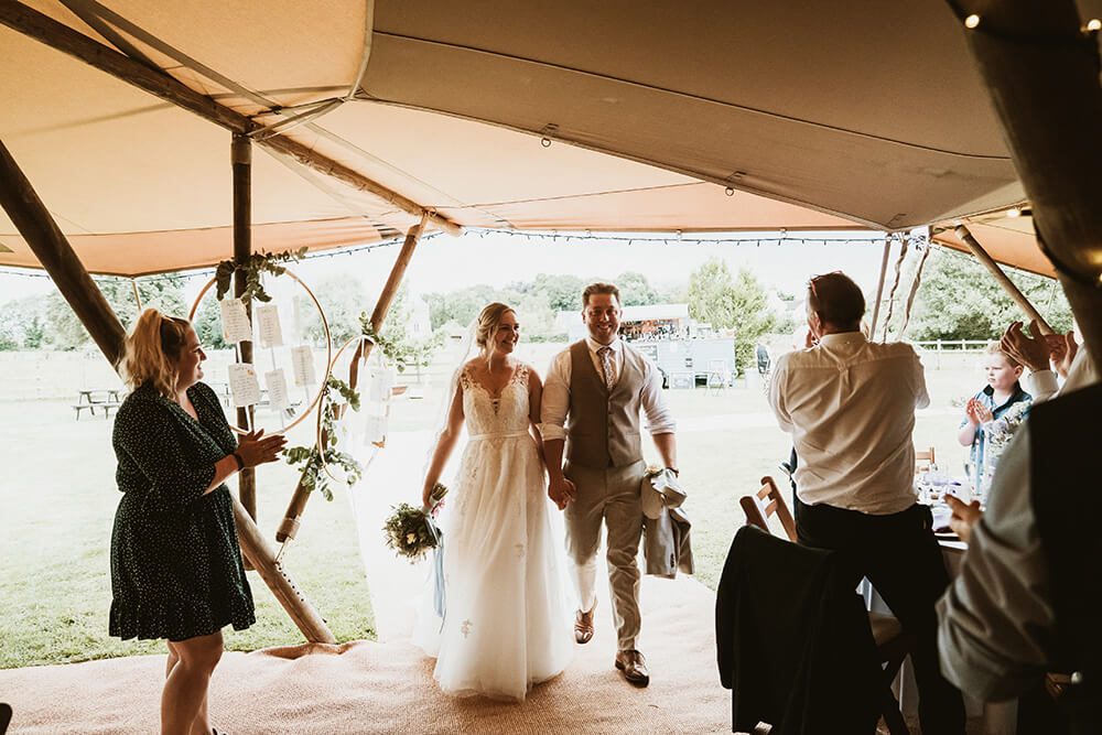 Real Tipi Wedding – Gina & Per