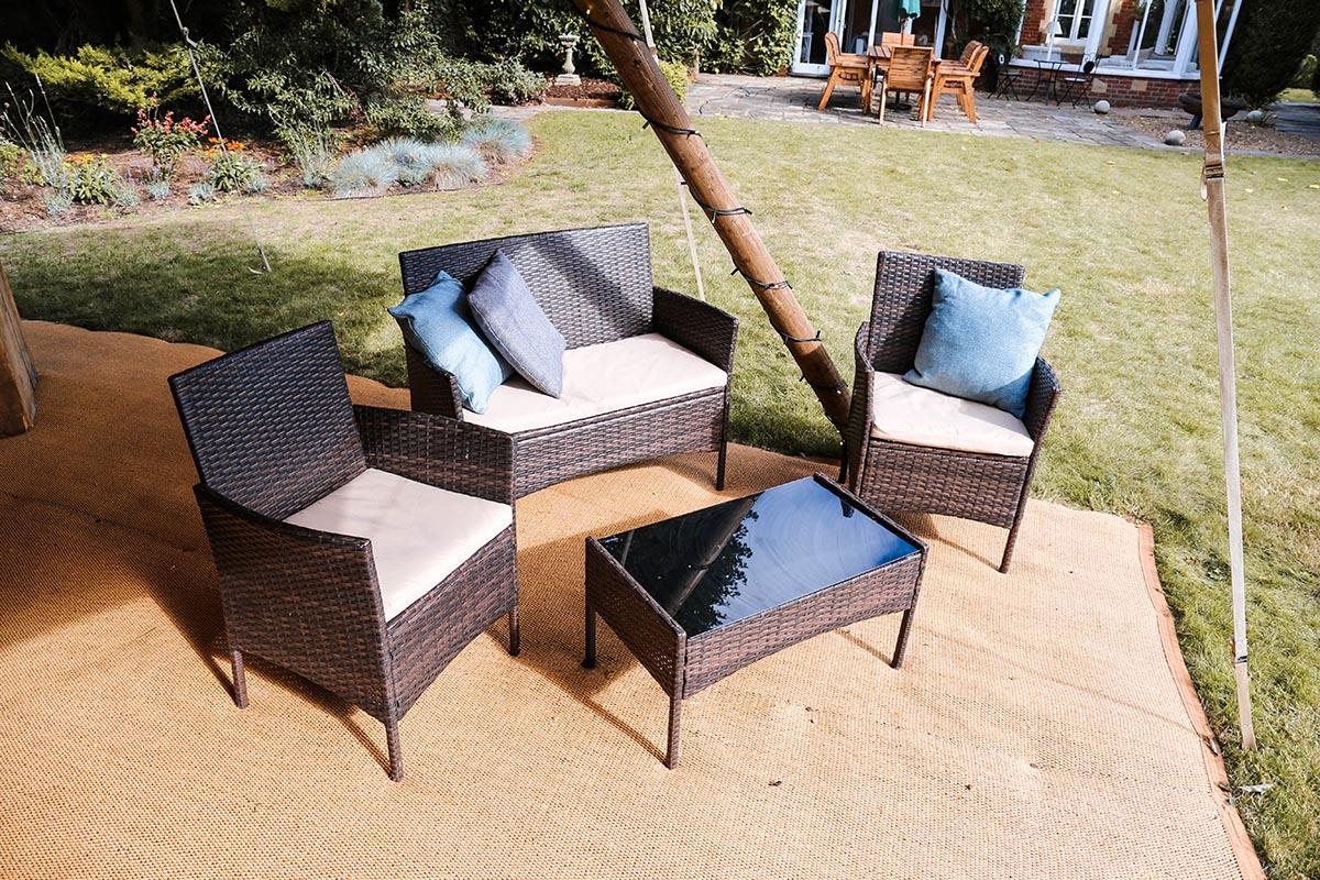 Chillout Rattan sofa set